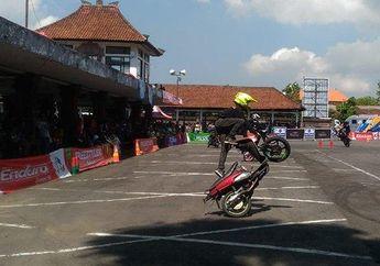 Seru! 30 Komunitas Motor Ramaikan Kampanye Safety Riding di Denpasar