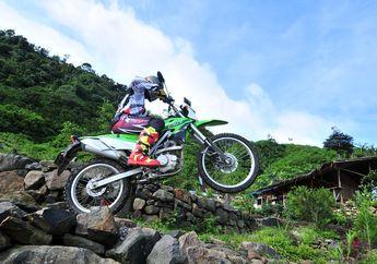 Ini Syarat Upgrade Kawasaki KLX 150 Series Mau Adventure Atau Trabasan
