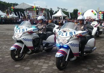 Gelar Kampanye Safety Riding, Polisi: Tiap Bulan 150 Korban Meninggal Akibat Kecelakaan