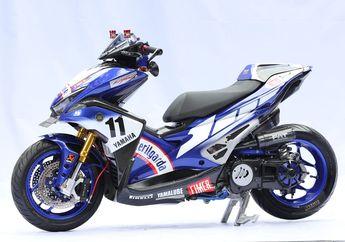 Inspirasi Motor Balap WSBK, Sukses Juara King of Customaxi Yamaha 2019