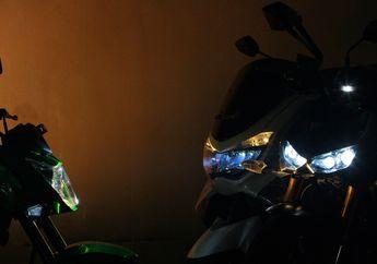 Street Manners: Lupa Nyalakan Lampu Motor di Siang Hari Bisa Celaka dan Kena Denda