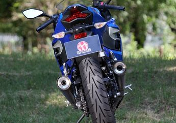 Video Motor Kawasaki Ninja 250 Pakai Knalpot Kiri-Kanan, Suara Moge tapi Adem