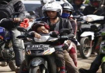 Pesan Polisi untuk Pemotor Waspadai Truk di Sepanjang Jalur Mudik