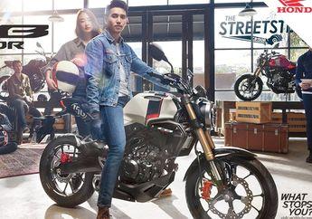 Viral! Penampakan Motor Honda CB150R Streetster 2019, Moge Banget