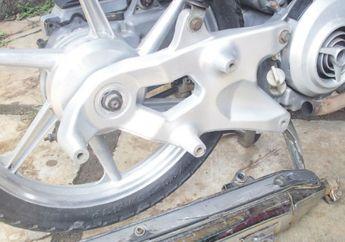 Arm Besi Yamaha Nouvo Diganti Pakai Pakai Aluminium, Makin Ganteng
