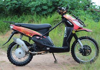 Yamaha Mio Sporty Jadi Motor Adventure, Asyik Diajak Garuk Tanah