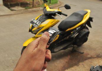 Maling Dijamin Nangis! Pasang  Smart Key Aftermarket di Yamaha Aerox 155 Standar.
