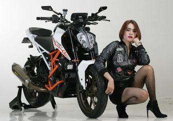 Alda Alexa Paling Suka Pacu Adrenalin di Atas Motor, Hobi Ngebut Boskuh...