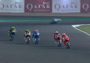 Dramatis, Start dari Grid ke-14 Valentino Rossi Finis ke-5,Sukses Pecundangi Maverick Vinales