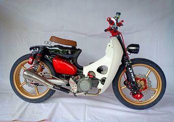 Honda Legenda Jadi Street Cub Termahal Se-Indonesia Yang Full RCB