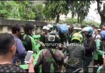 Jalan Tanjung Duren Mendadak Heboh, Driver Ojol dan Warga Berkerumun, Ternyata Bukan Kecelakaan