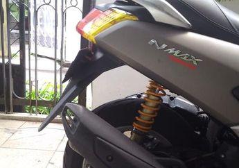 Trik Bikin Sok Belakang Yamaha NMAX Jadi Empuk, Geser Dudukan Atasnya.