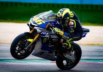 Apa-apaan Nih, Valentino Rossi Ketangkep Kamera Jajal Motor Superbike