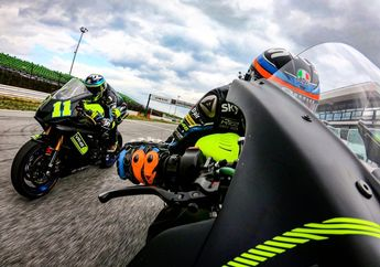 Valentino Rossi Latihan Bareng, Muridnya Malah Pakai Motor 600 cc