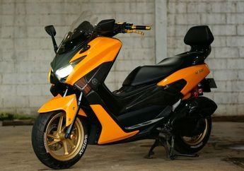 Segini Harga Paket Body Kit Lent Yamaha NMAX, Tampilan Jadi Mirip XMAX