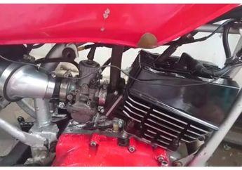 Bengis Yamaha RX-King Master Tjendana Vs Ninja 150 Ninggal Sekebon, Nih Videonya