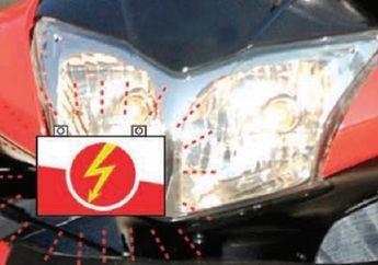 Kupas Tuntas Masalah Aki Motor Sering Tekor, Jangan Ngedumel, Coba Cek Bagian Ini