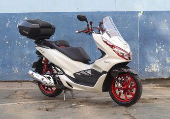 Lagi Trend Jok Honda PCX 150 Model Eropa, Bikin Nyaman dan Mewah
