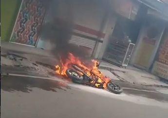 Belum Banyak yang Tahu, Ternyata Hal-hal Ini yang Menyebabkan Motor Bisa Sampai Terbakar