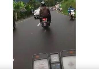 Menang Mana, Motor Yamaha RX-King Versus NMAX di Jalan Puncak Bogor