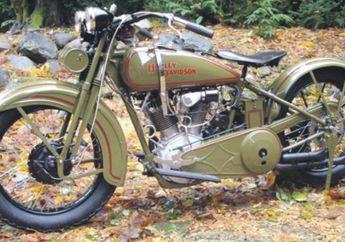 Keren, Harley-Davidson JDH (1929) Dirancang Lebih Lincah, Tangki Bensin Dipangkas