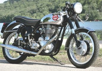 Brimingham Small Arm Goldstar (Inggris) The Fastest Bike in The 50s