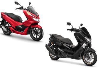Yamaha NMAX Seken Vs Honda PCX 150 Seken, Mana yang Harganya Lebih Stabil?