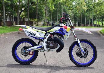 Aura Balap Motor Yamaha RX-Z Hilang Usai Dimodif Buat Trabasan di Jalur Ekstrim