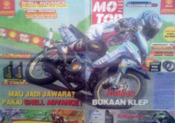 Nostalgia Kupas Yamaha F1Z-R Inter Biru CMS Racing Team 2001