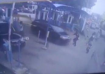 Ngeri! Video Pelaku Hipnotis Kepergok Beraksi, Satpam Dilindas dan Nyaris Tabrak Pemotor