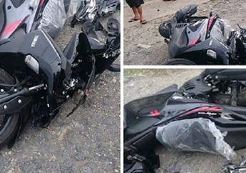 Viral Motor Yamaha Aerox Kecelakaan Keluar Dealer, Apakah Bisa Diklaim Asuransi?