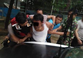 Mencekam! Penangkapan Pemuda Ngamuk di Depan SPBU Sambil Tenteng Celurit, Pemotor Ketakutan