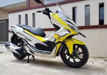 Kece Badai! Honda PCX 150 Pasang Windshield Aksesoris, Harganya Gak Bikin Kantong Jebol