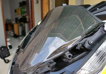 Cek Nih Daftar Harga Komponen Carbon Buat Honda PCX, Biar Makin Sporty!