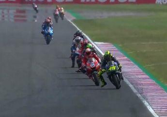 Andrea Dovizioso Curhat Begini Setelah Diasapi Valentino Rossi di MotoGP Argentina
