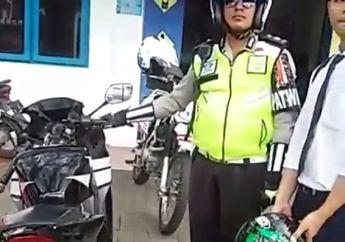 Motor Digeber-geber, Polisi Makin Gencar Tangkap Pemakai Knalpot Brong, Dua Pemotor Pasrah