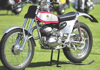 Bultaco  Motor Model Trial Bermesin 2-tak yang Legedaris