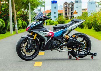 Contek Konsep Motor MotoGP, Yamaha MX King Jadi Ganteng Maksimal Padat Berisi