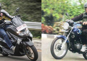 Gokil! Yamaha NMAX Vs RX-King Adu Kebut di Trek Lurus, Kenceng Mana?