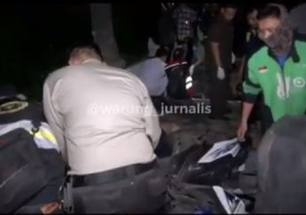 Jalan Rasuna Said Mencekam, Video Pelaku Pembegalan Terlibat Tarik-tarikan Tas, Satu Orang Meninggal