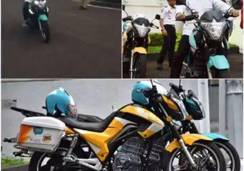 Wuss! Video Ridwan Kamil Melongo Naik Motor Ini, Suara Mesinnya Hening