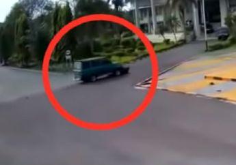 Kampus Unsri Palembang Geger, Viral Video Mahasiswi Tewas Terseret Mobil