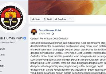 Divisi Humas Polri Resmi Umumkan Operasi Penertiban Debt Collector