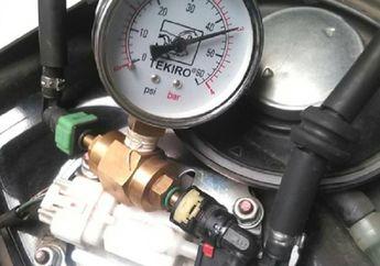 Mudah Dongkrak Power Motor Injeksi,  Cukup Atur Ulang Fuel Pressure Bahan Bakar