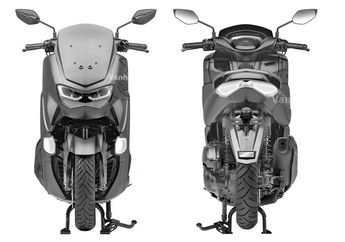 Isu Yamaha NMAX facelift 2019 Belum Tuntas Sudah Ada NMAX Baru Lagi