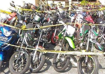 Bukan Hasil Curanmor, Puluhan Motor Disita Polisi Karena Pakai Knalpot Brong