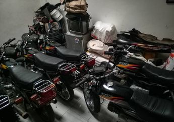 Honda Win Plat Merah Dilelang Murah, Rp 5 Jutaan Per Unitnya !