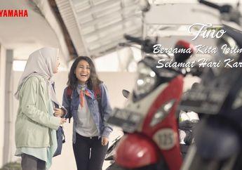 Peringati Hari Kartini, Yamaha Indonesia Persembahkan TVC Terbaru