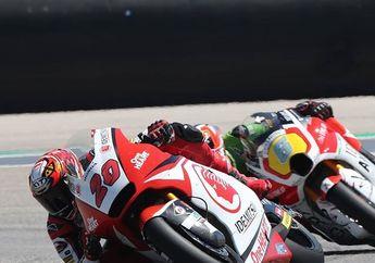 Hasil Baik Dimas Ekky di Moto2 Amerika 2019, Naik 8 Posisi Finish