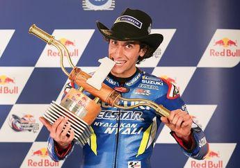 Hasil Balap MotoGP Amerika 2019, Alex Rins Pecundangi Idolanya Rossi